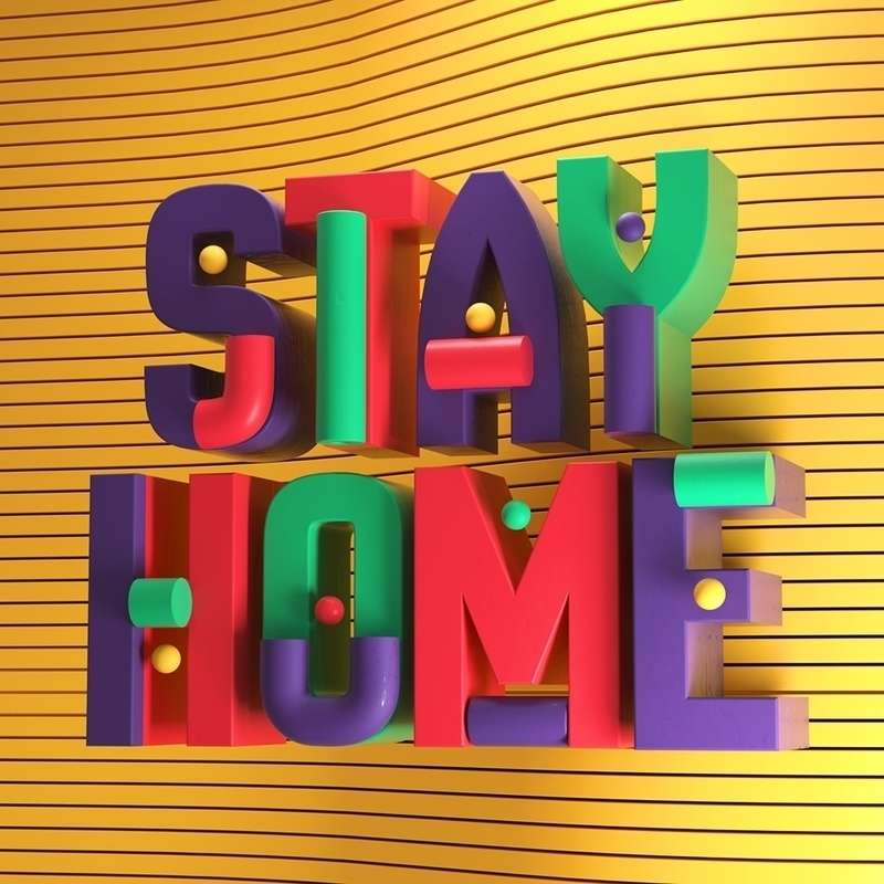 Stay Home Create Art Posts