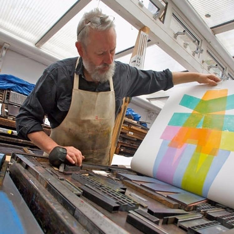 Master Type Designer Alan Kitching