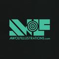 Aaron Wolf (@awolfillustrations) Avatar