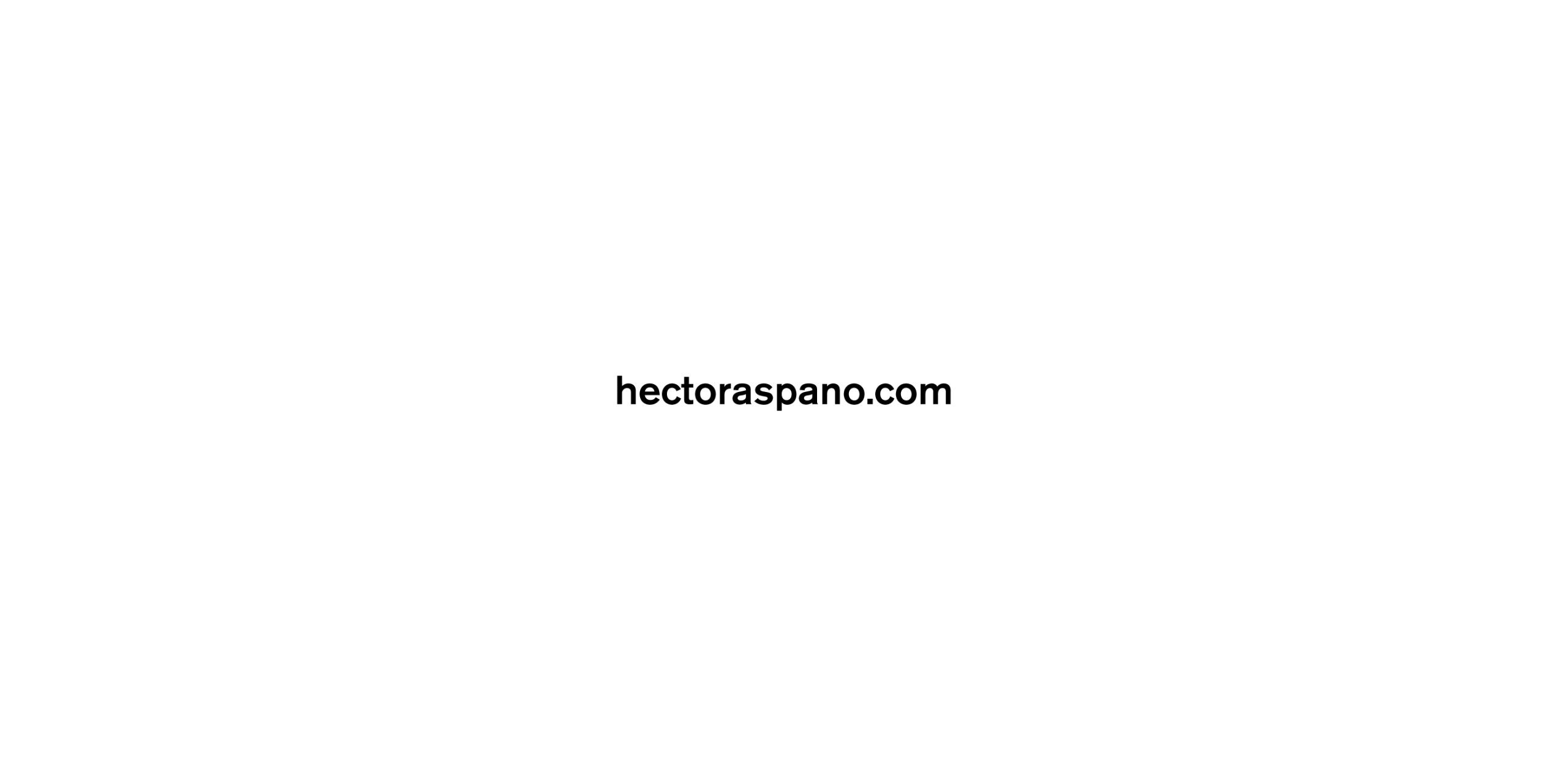 Hector Aspano (@hectoraspano) Cover Image