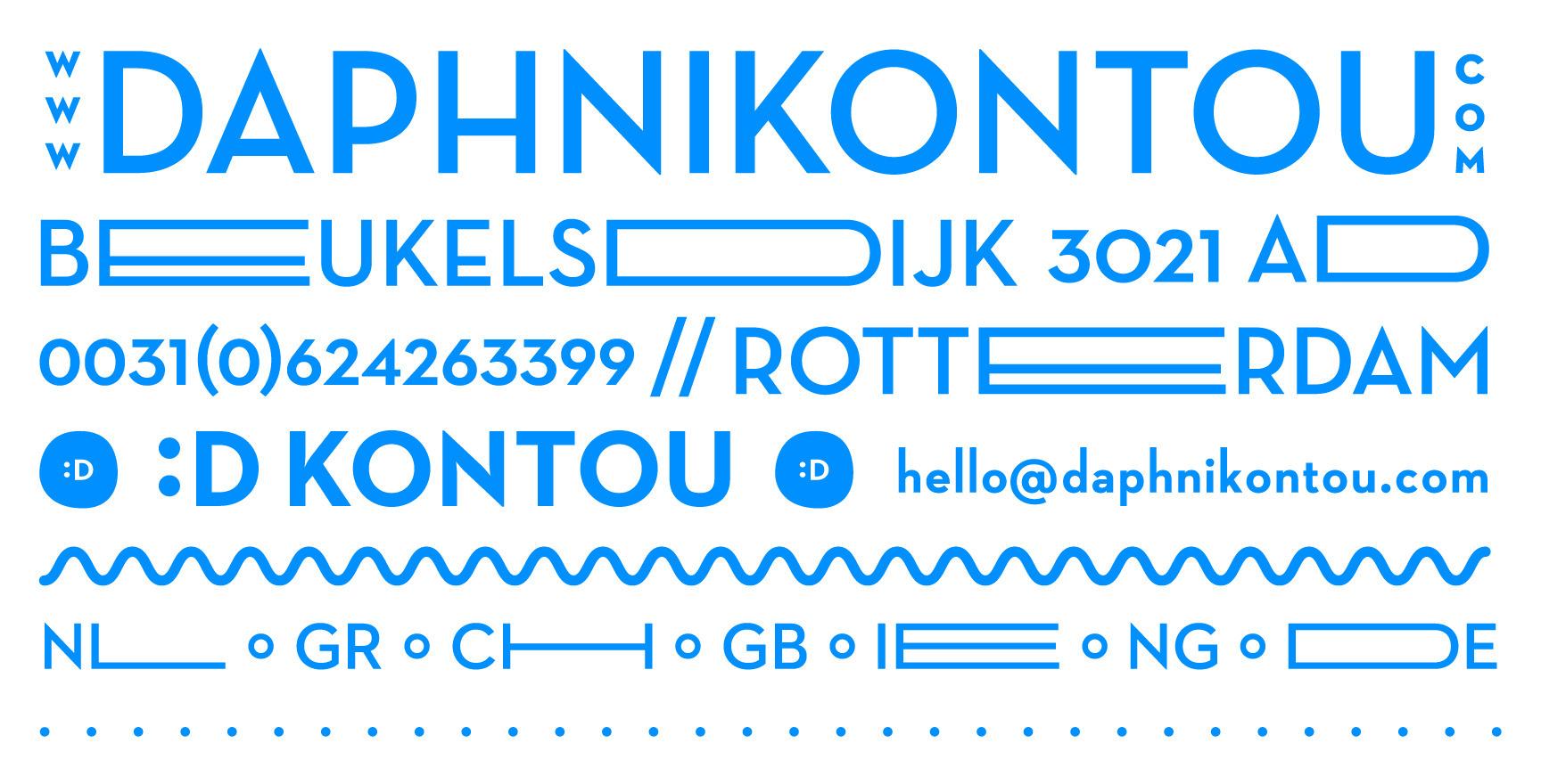 Daphni Kontou Graphic Design (@d_kontou) Cover Image
