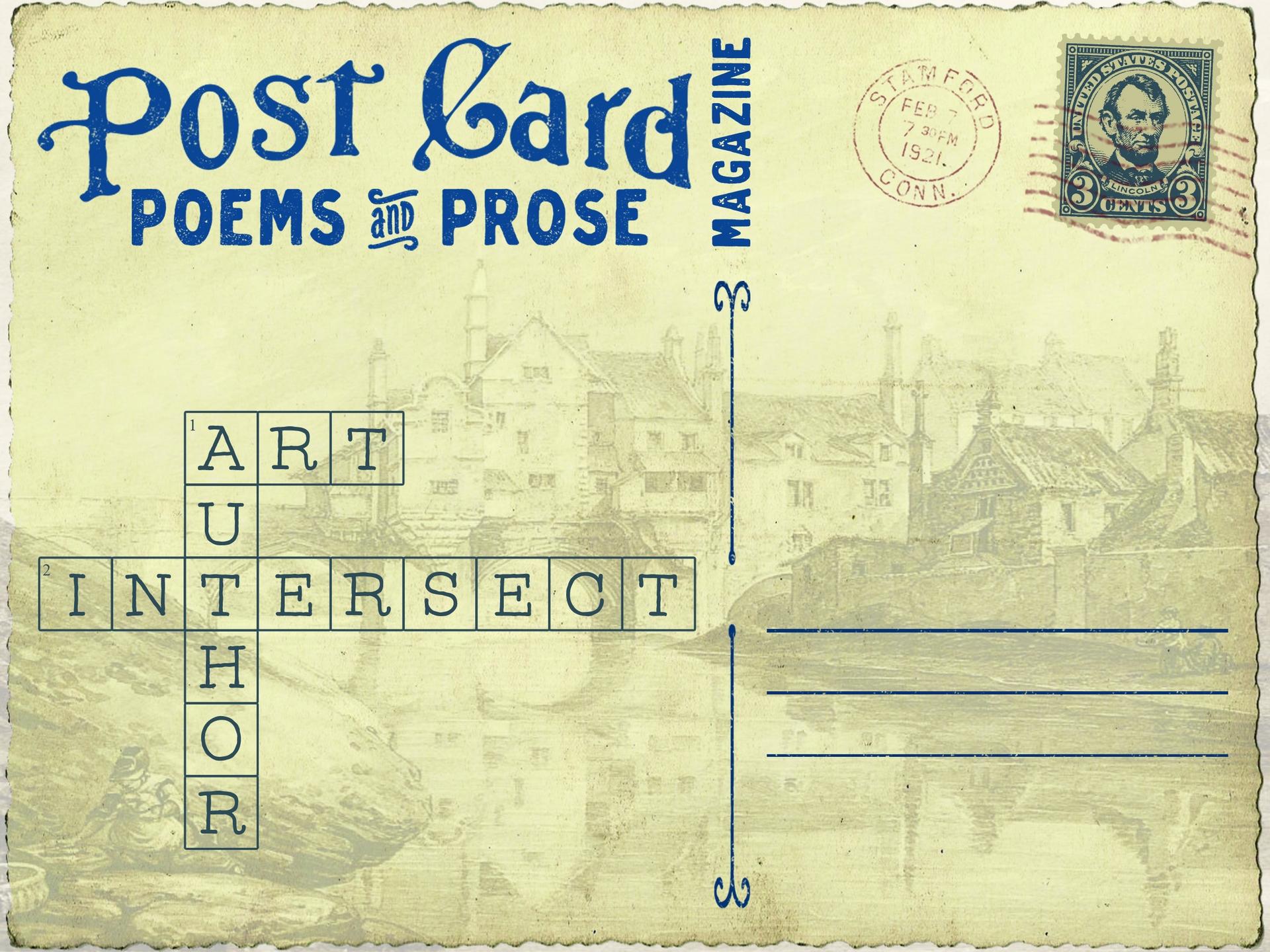 Postcard Poems and Prose Magazine (@postcardpoemsandprosemagazine) Cover Image