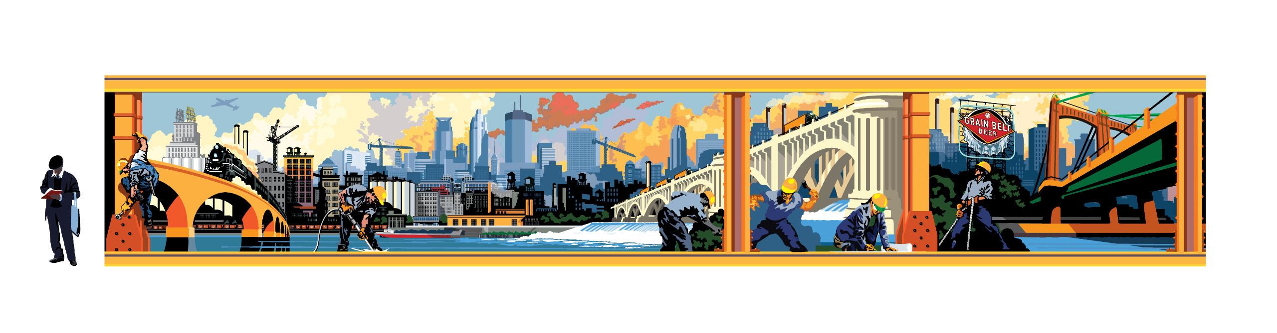 Mark Herman Landmark Art (@ambercs27) Cover Image