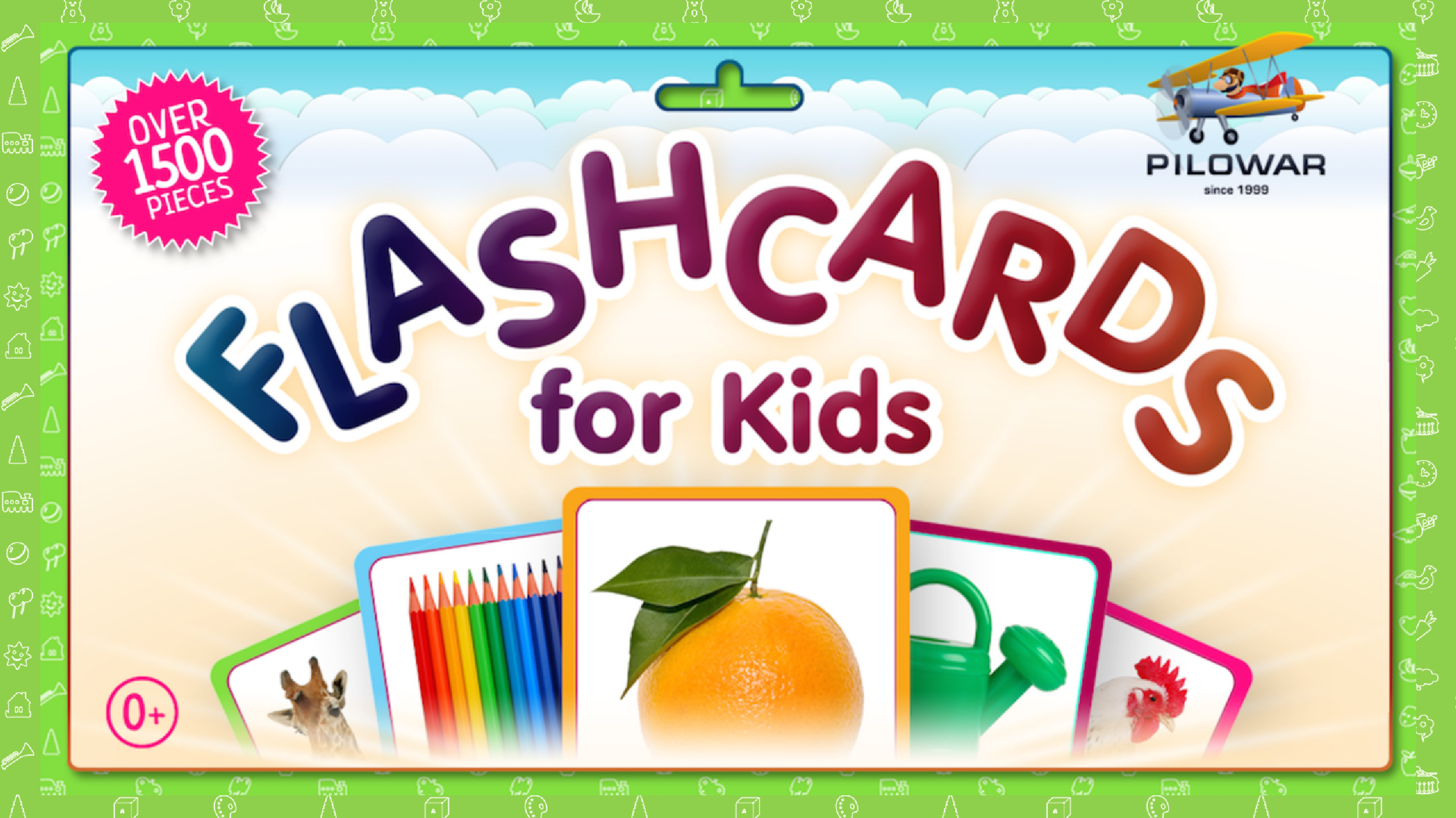 Flashcards for Kids (@viktormukhin) Cover Image