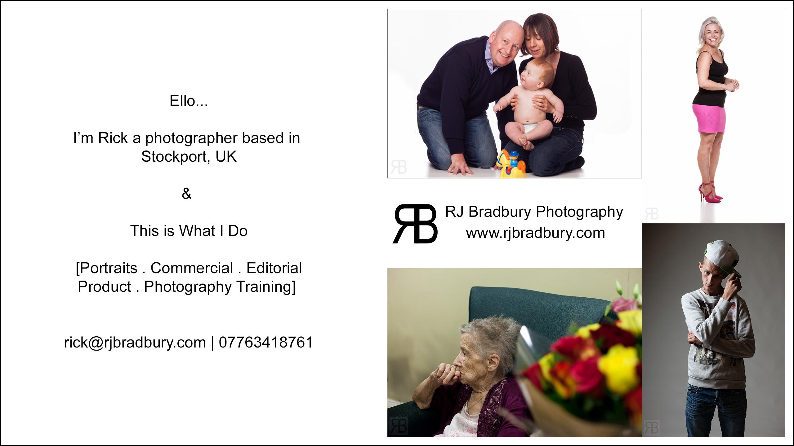 Rick Bradbury (@rjbradbury) Cover Image