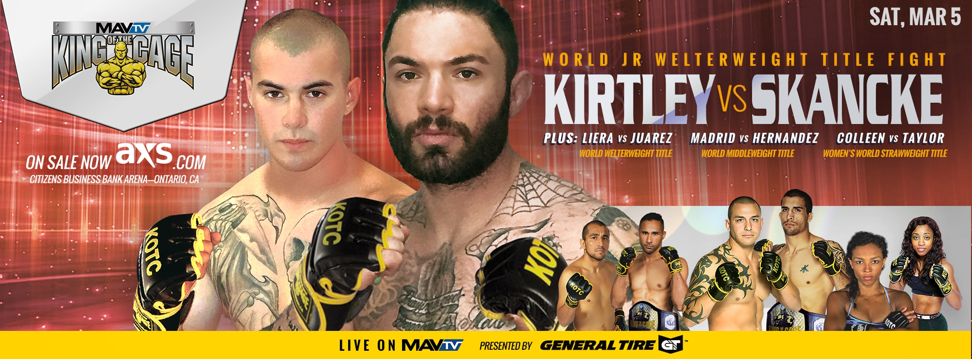 @kingofthecage Cover Image
