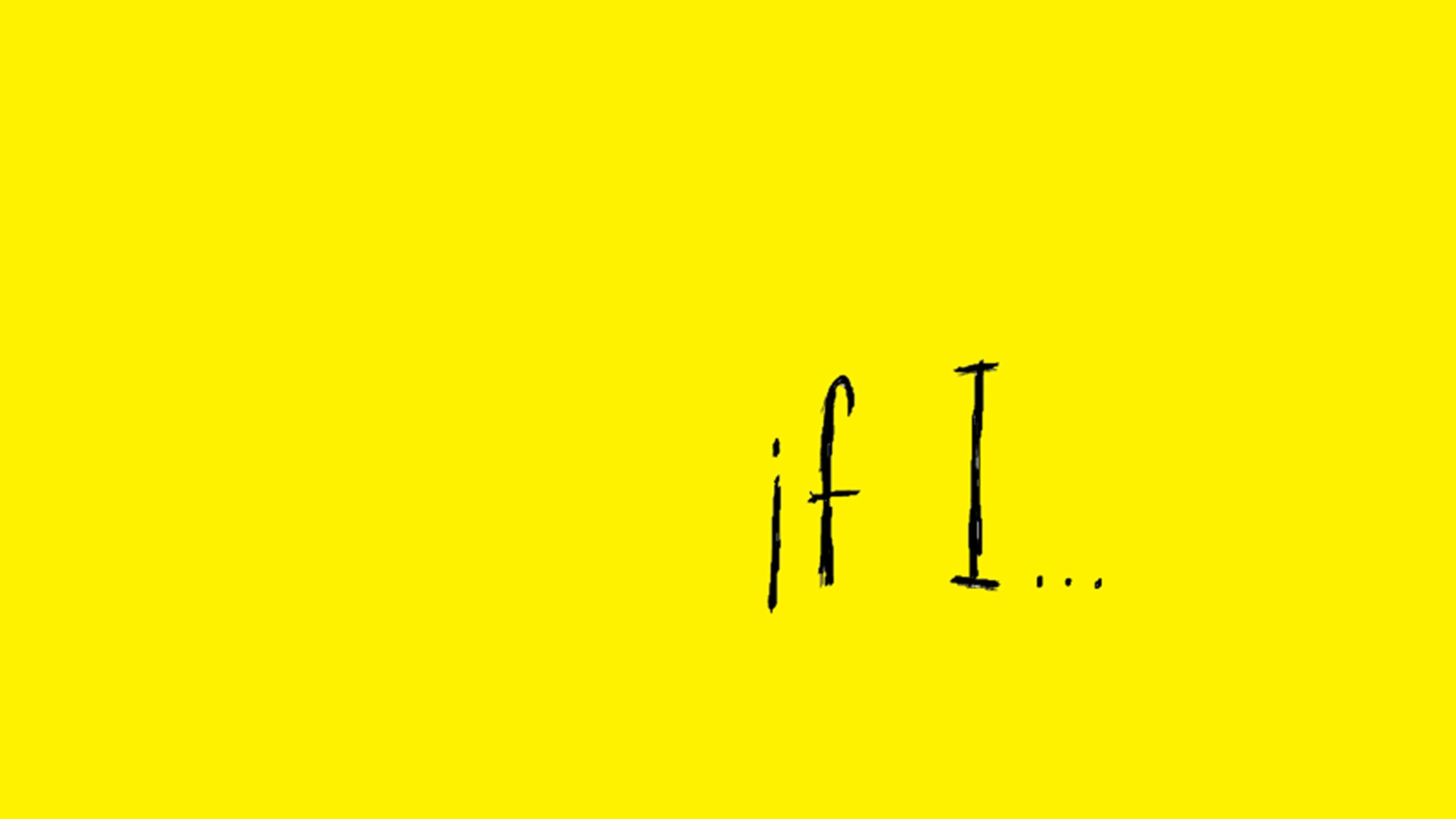 """If I"" (@if_i) Cover Image"