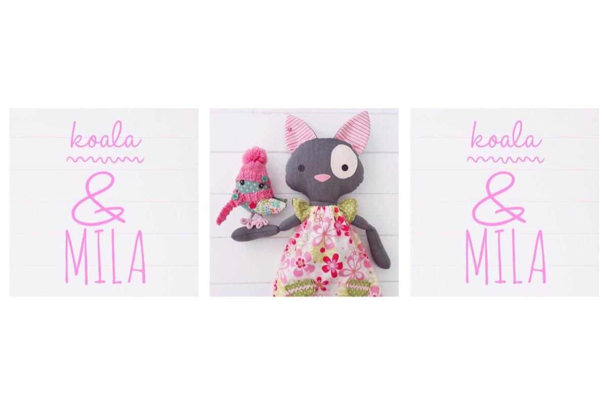 Designers of handmade companions (@koalaandmila) Cover Image