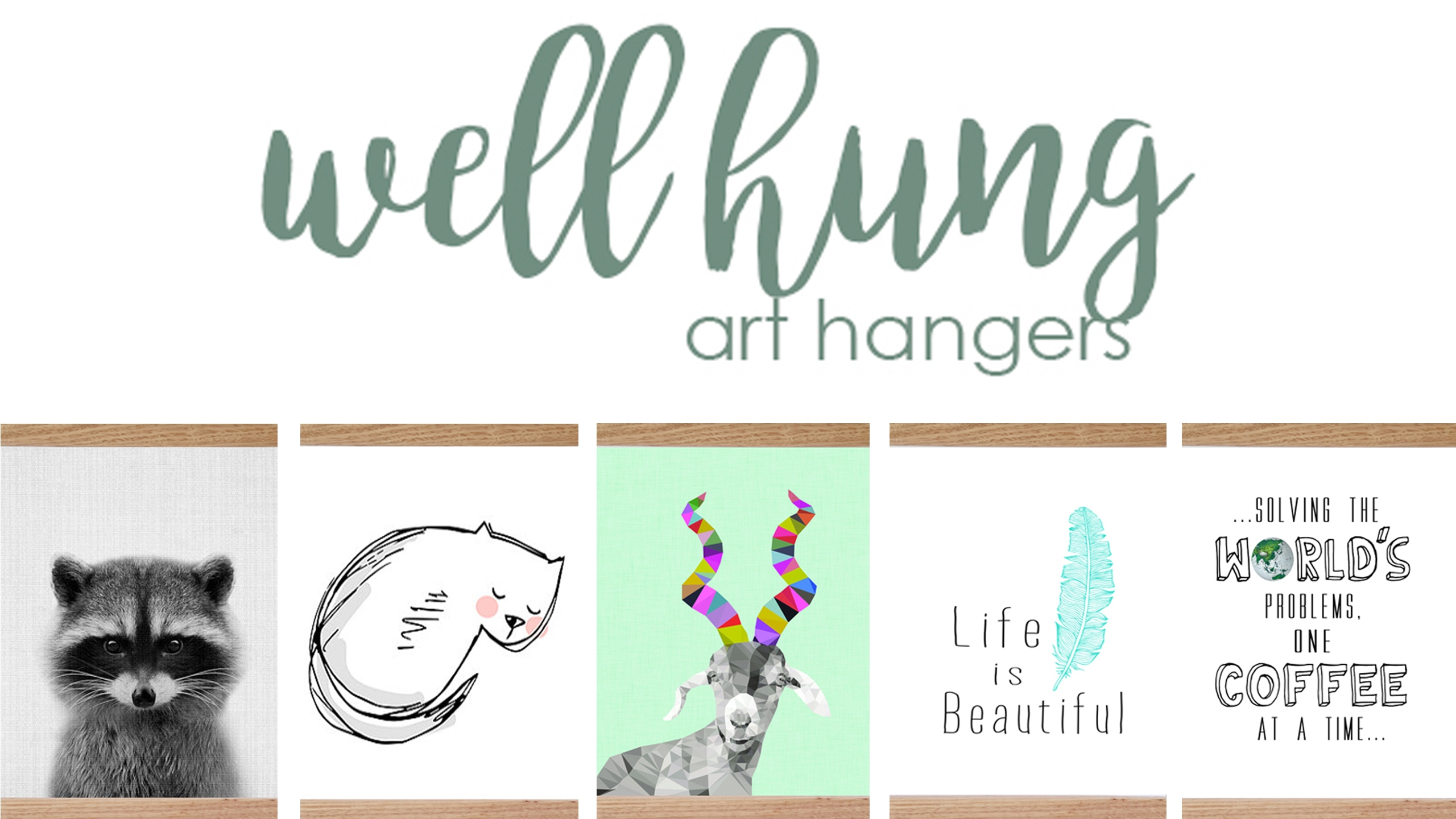 Well hung art hangers (@wellhungarthangers) Cover Image