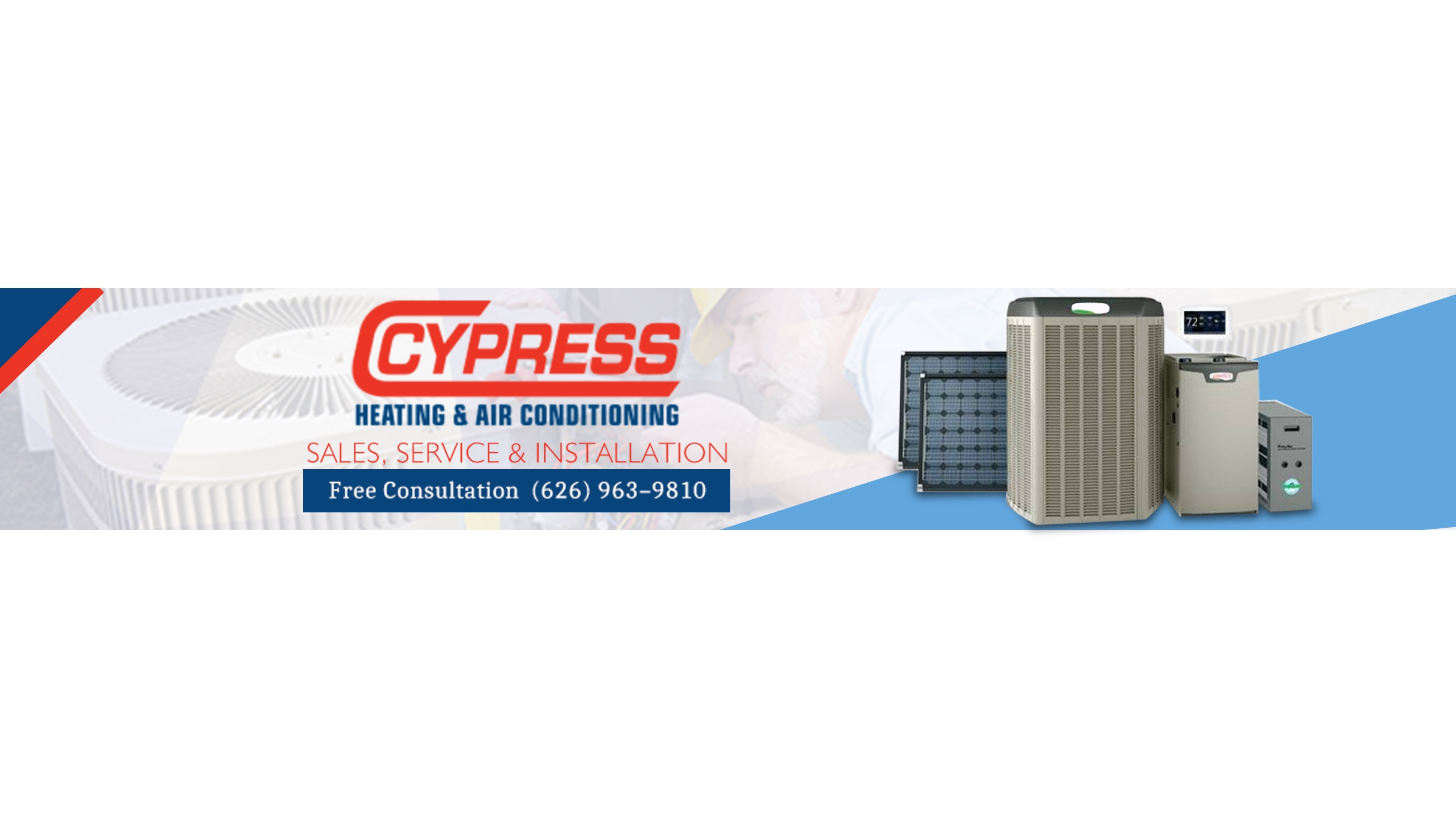 Cypress Heating & Air Conditioning (@cypressair) Cover Image