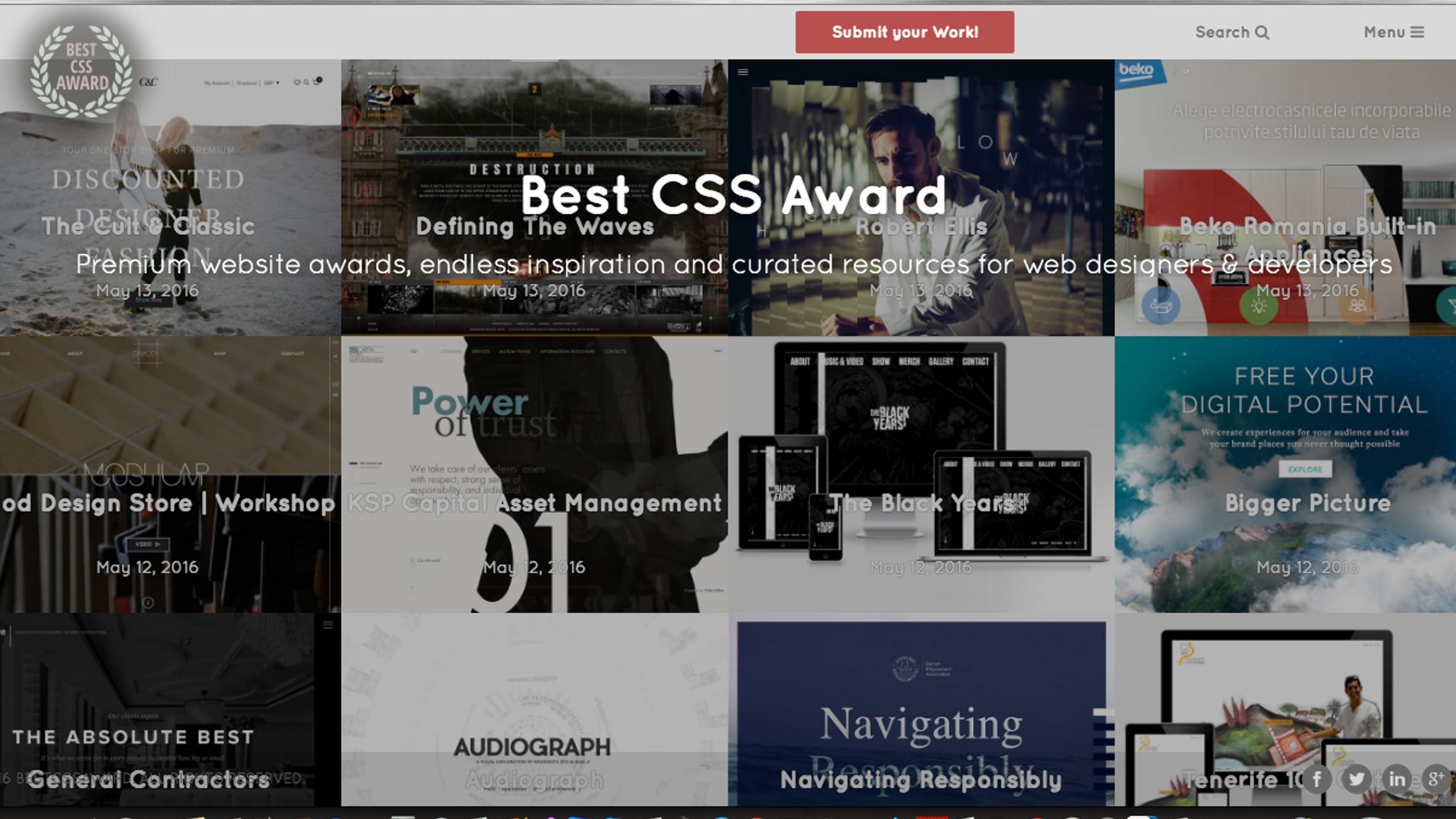 Best CSS Award (@bestcssaward) Cover Image