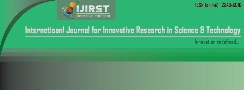IJIRST (@ijirst) Cover Image