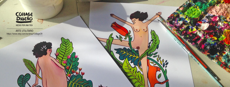 Erykah Zeledón Salazar (@collagecr) Cover Image