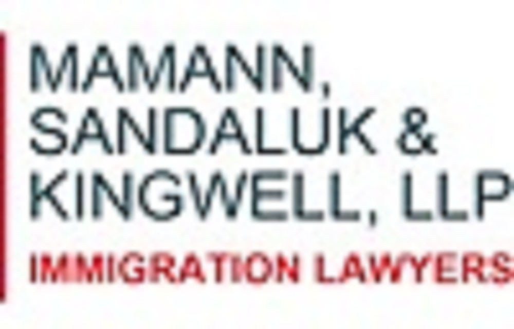 Mamann, Sandaluk & Kingwell LLP (@migrationlaw) Cover Image