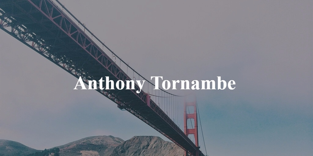 Anthony Tornambe (@anthonytornambe) Cover Image