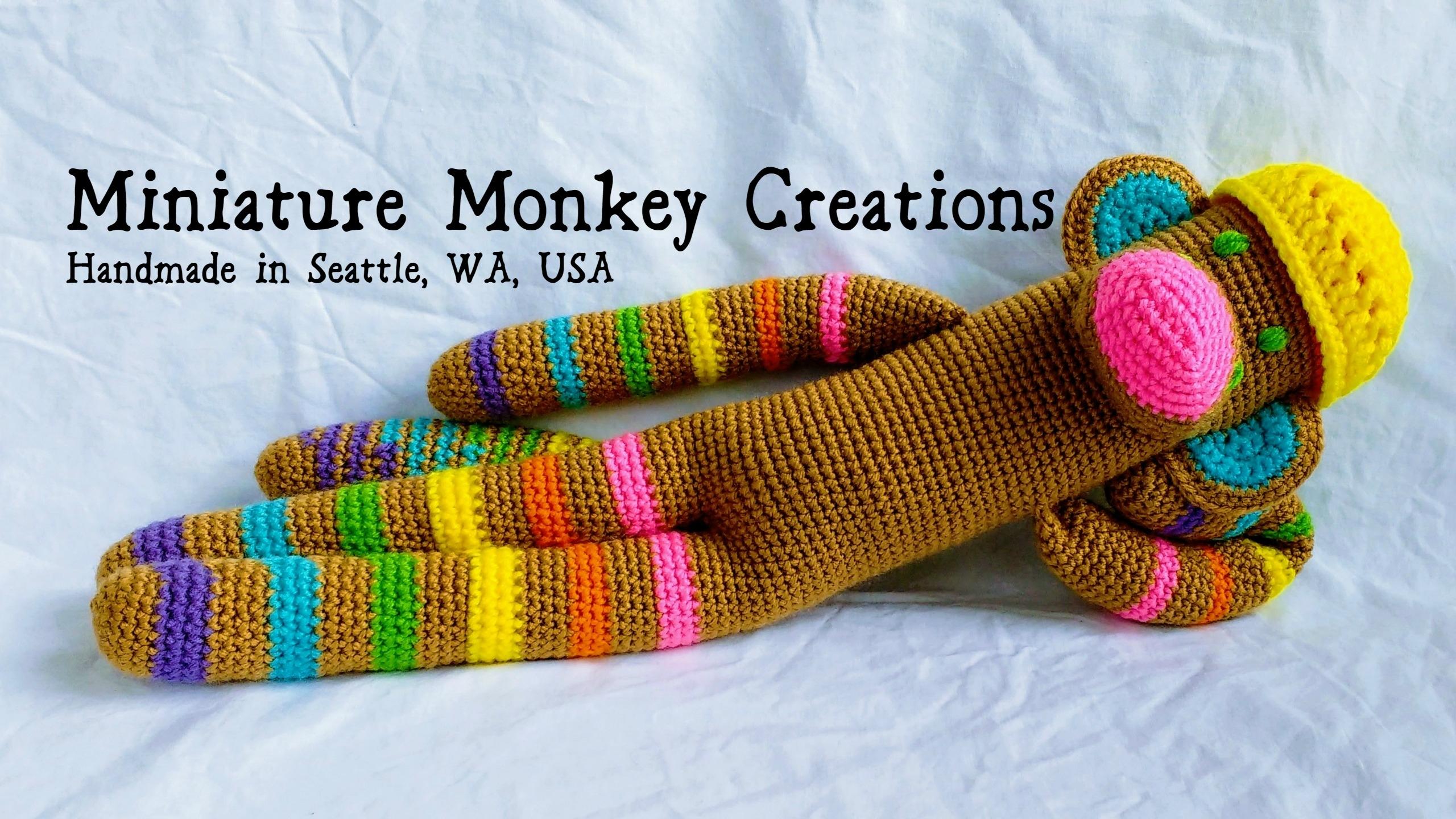 Miniature Monkey Creations (@miniaturemonkeycreations) Cover Image