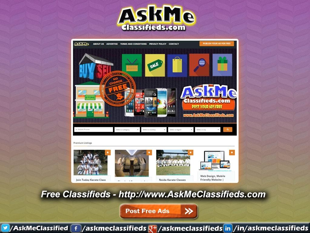 AskMe Classifieds (@askmeclassifieds) Cover Image