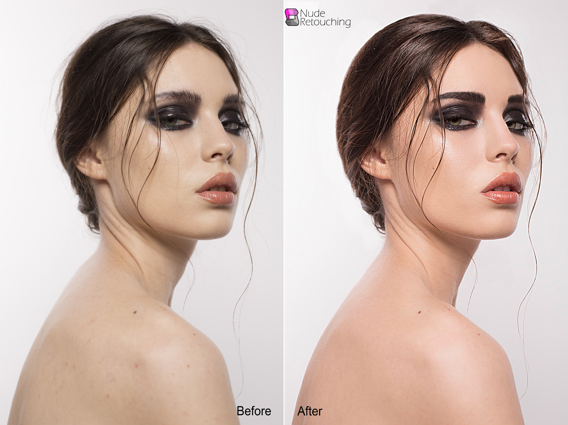 NudeRetouch: portrait photo retouching (@boudoirediting) Cover Image