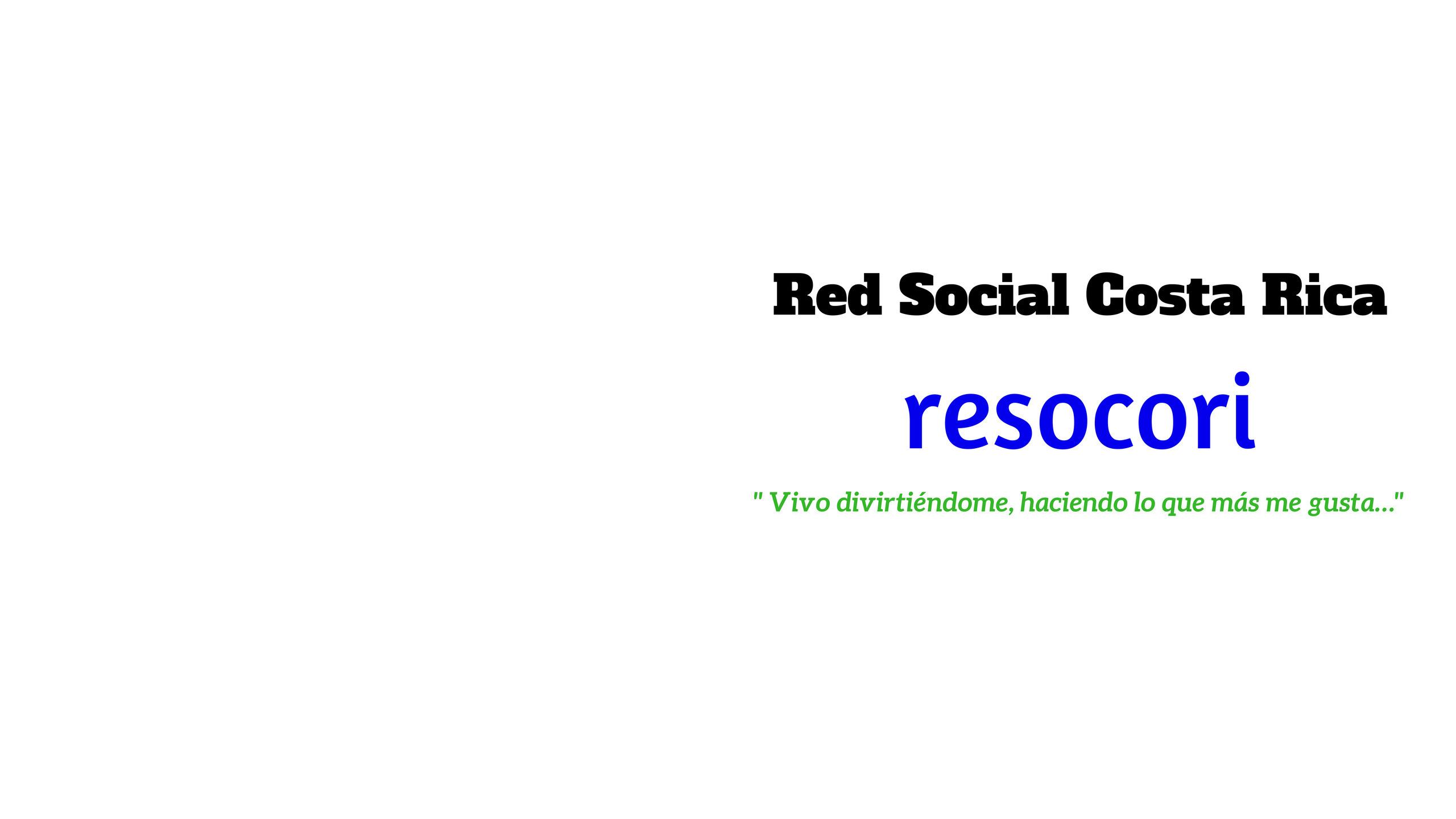 Red Social Costa Rica (@resocori) Cover Image