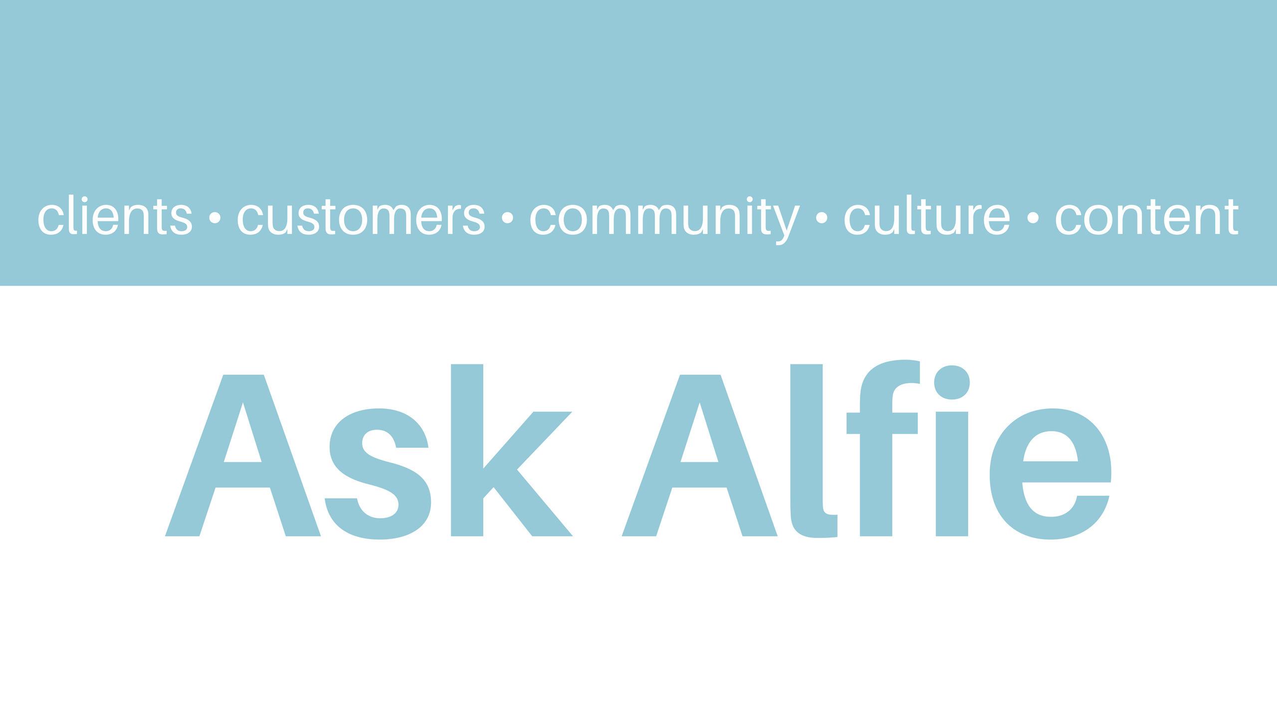 Ask Alfie (@ask-alfie) Cover Image