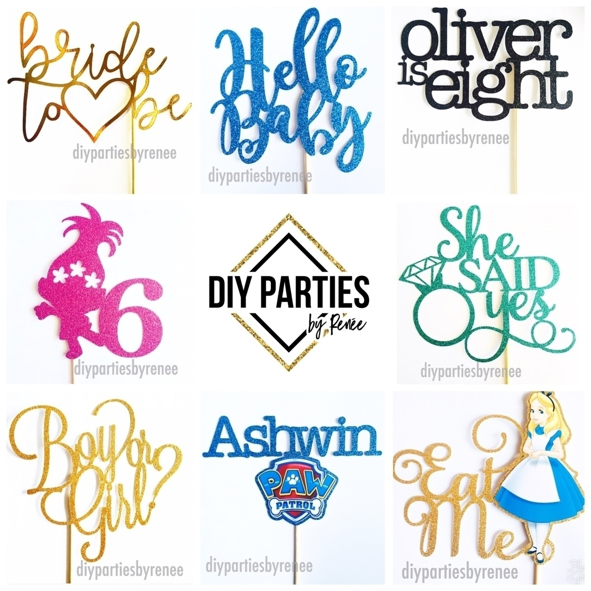 DIY Parties By Renee (@diyparties) Cover Image