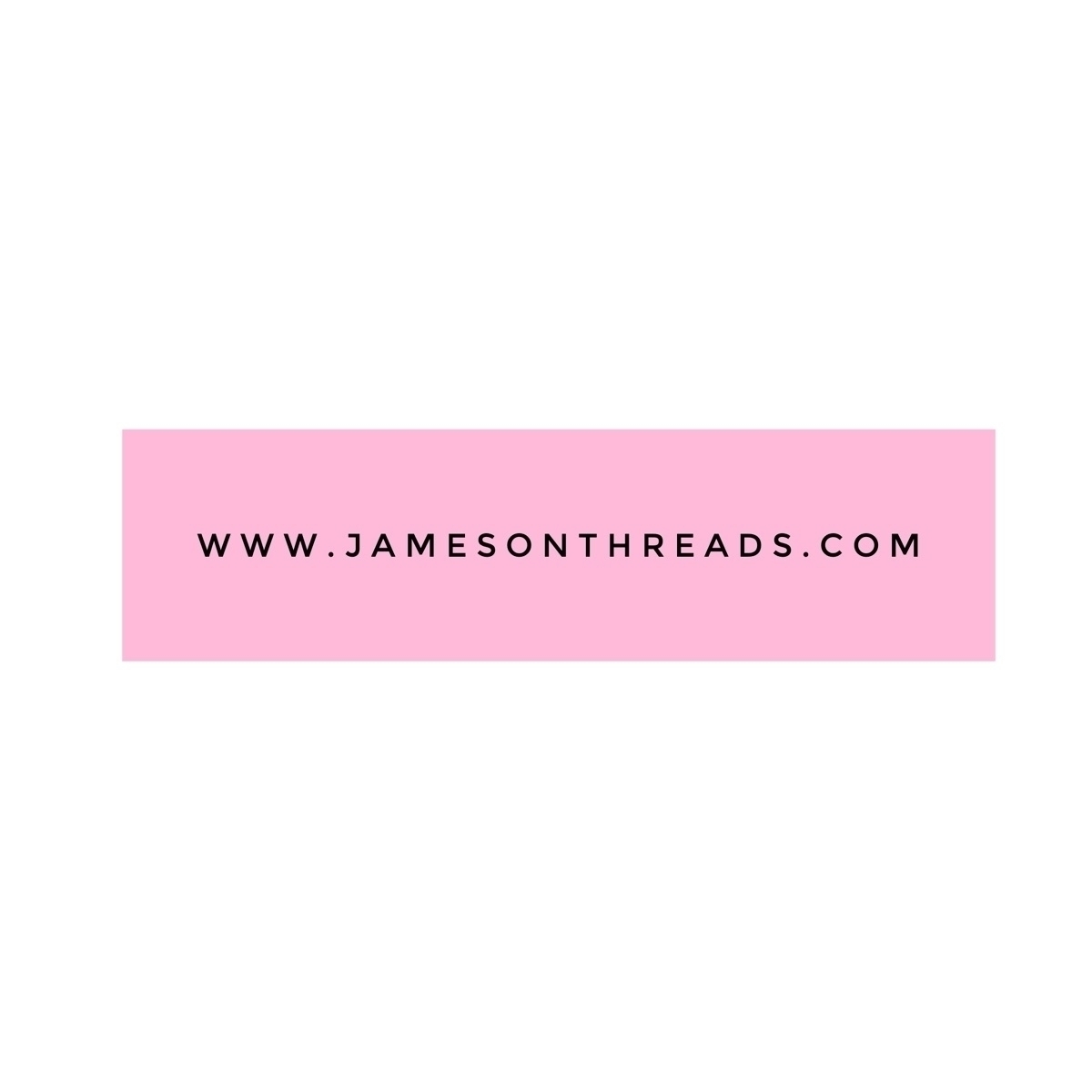@jamesonthreads Cover Image