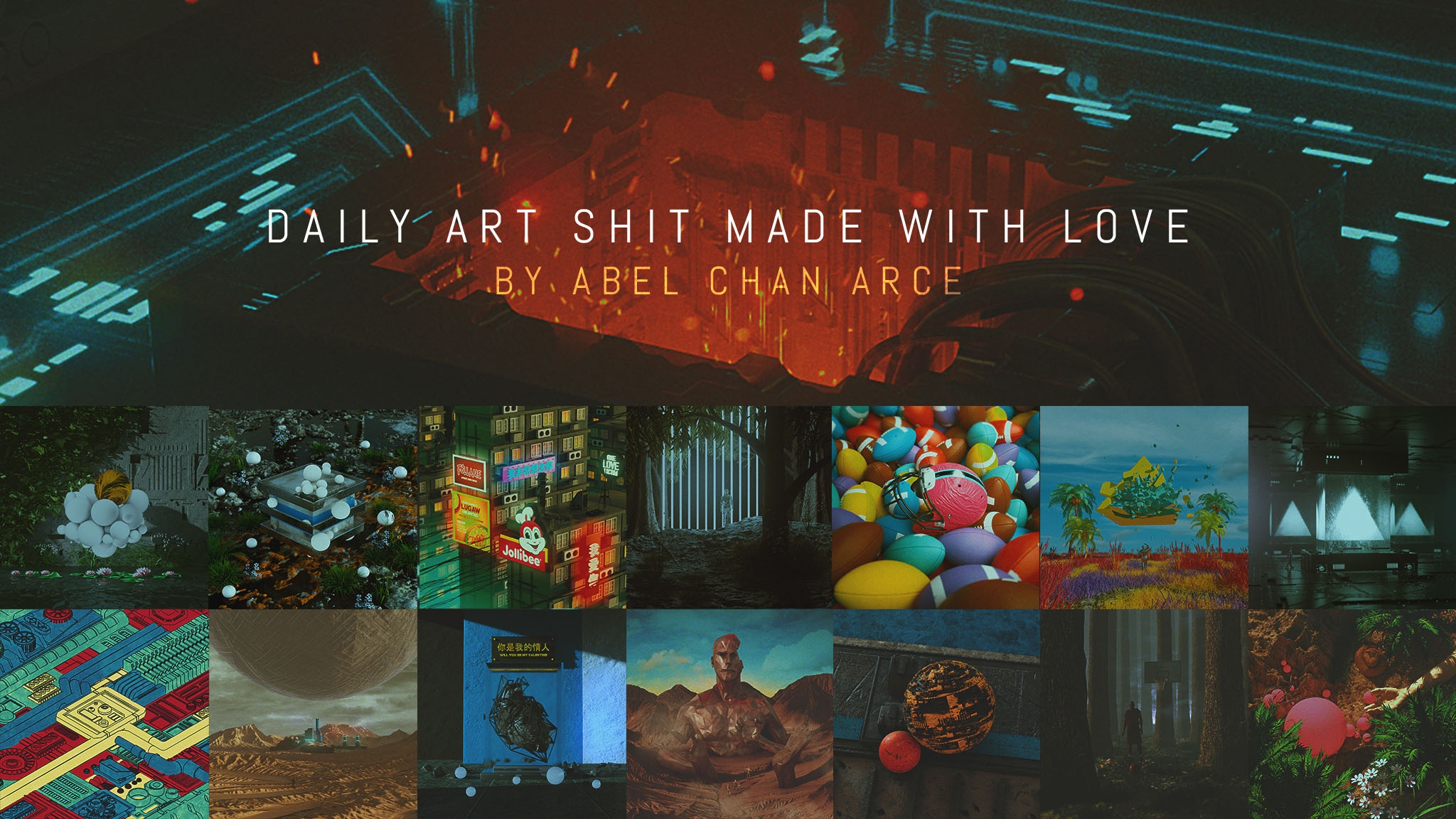 Abel Chan Arce (@polygonatic) Cover Image