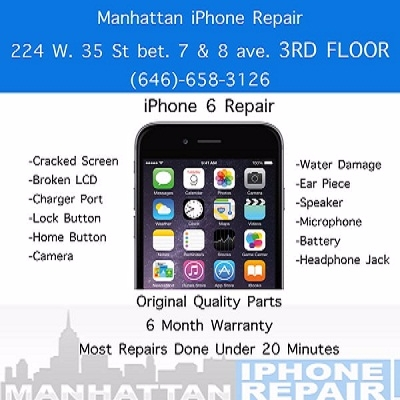 Manhattan iPhone Repair (@phonerepairny) Cover Image