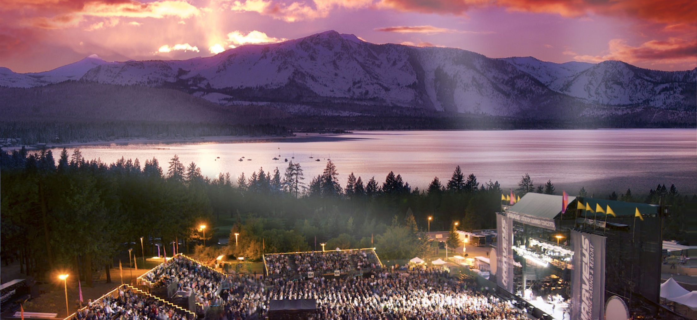 Harveys Outdoor Arena (@laketahoearena) Cover Image