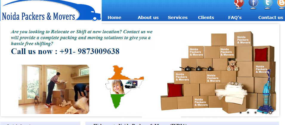 Noida Packers and Movers (@noidamover) Cover Image