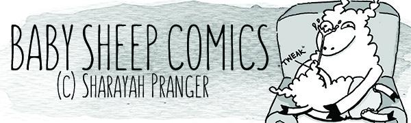 Sharayah Pranger (@babysheepcomics) Cover Image