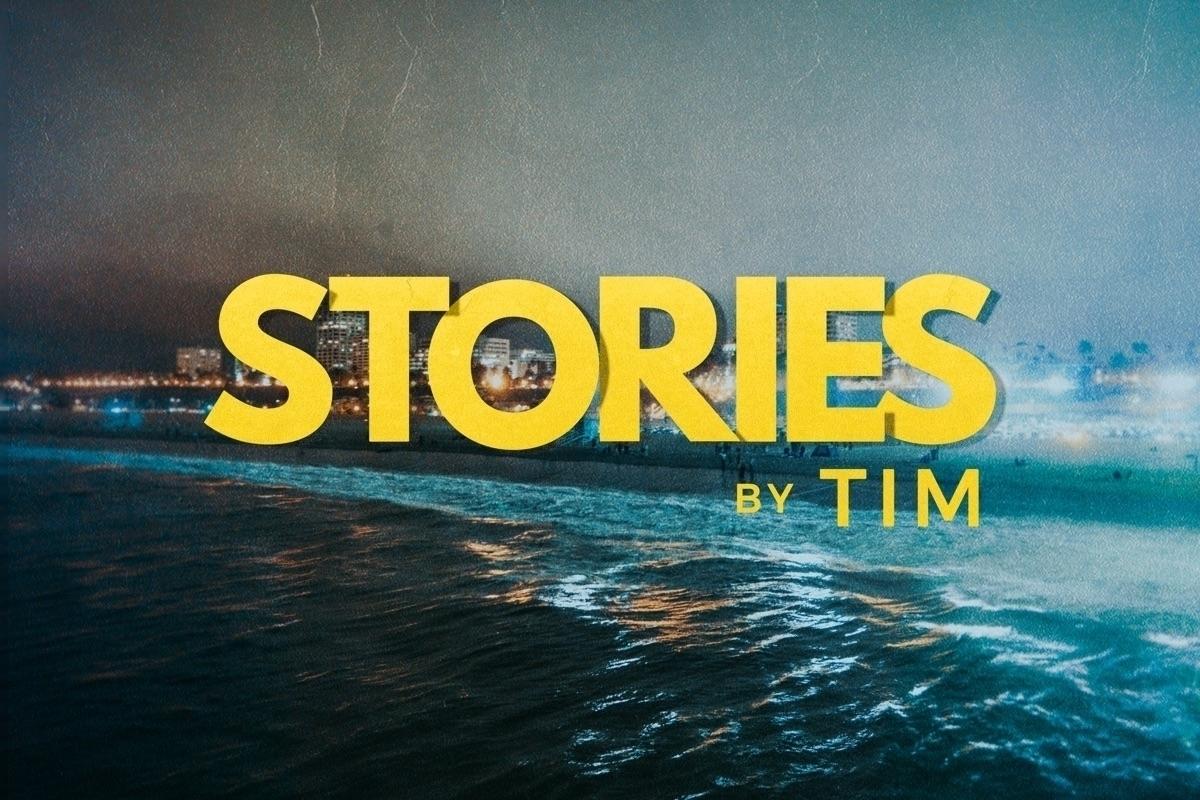 Timothy (@storiesbytim) Cover Image