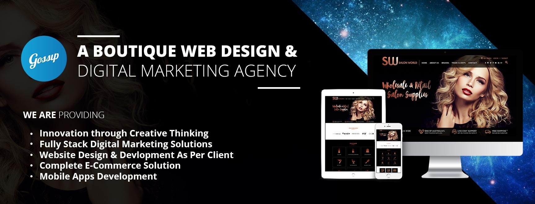 Gossip Web Design (@gossipwebdesign) Cover Image
