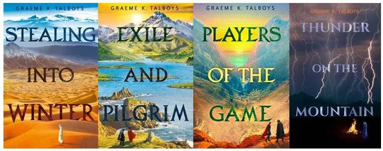Graeme K Talboys (@grumwriter) Cover Image