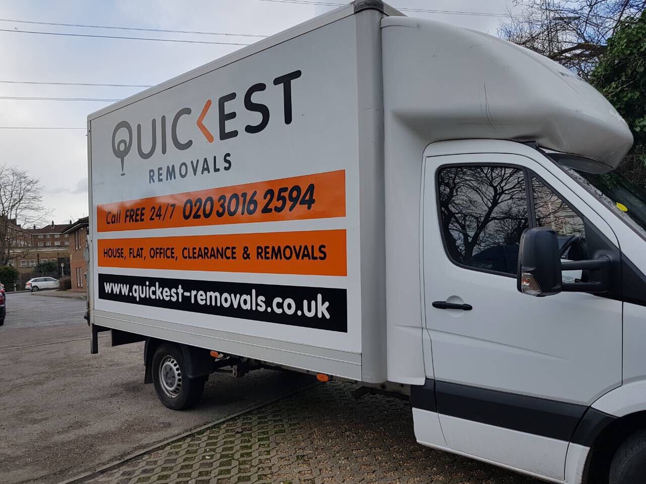 Quickest Removals  (@quickestremovals) Cover Image