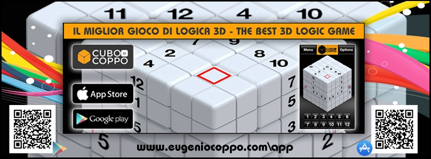 Coppo's Cube - Logic Game Sudoku 3D (@coppocube) Cover Image