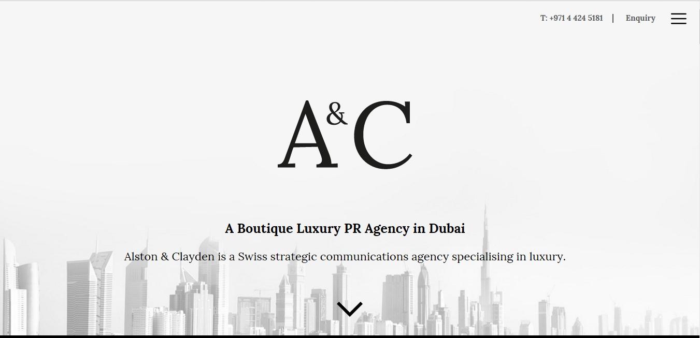 Alston & Clayden - PR Firm Dubai (@aandc) Cover Image