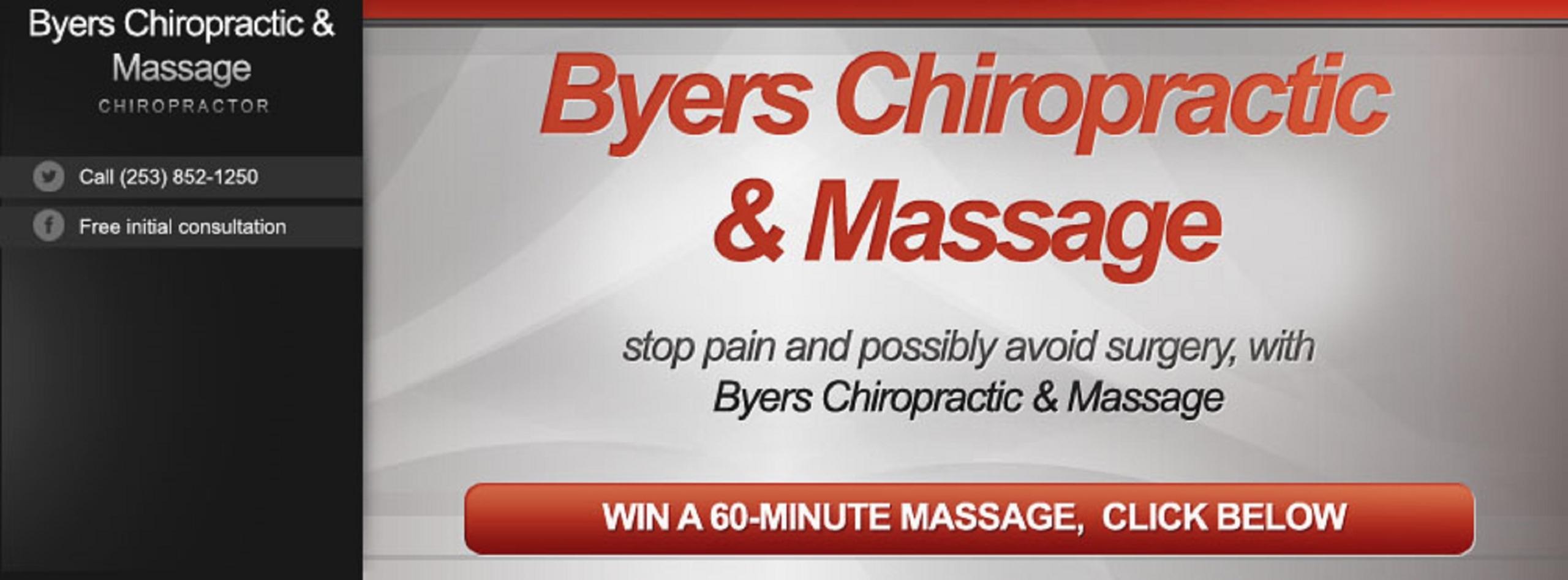 Byers Chiropractic & Massage (@byerschiro) Cover Image