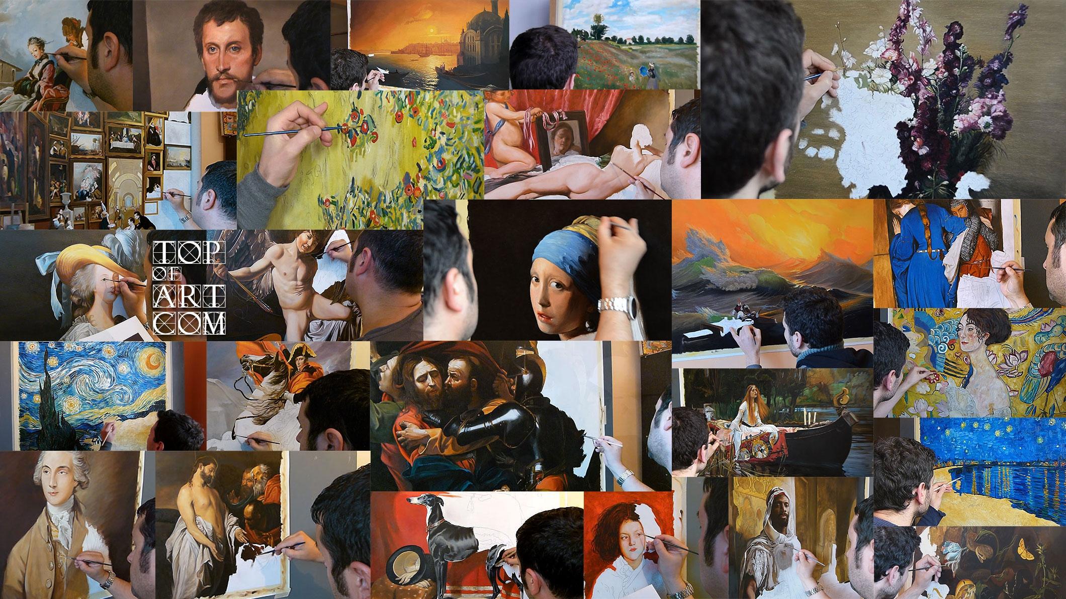 TOPofART Painting Reproductions (@topofart) Cover Image