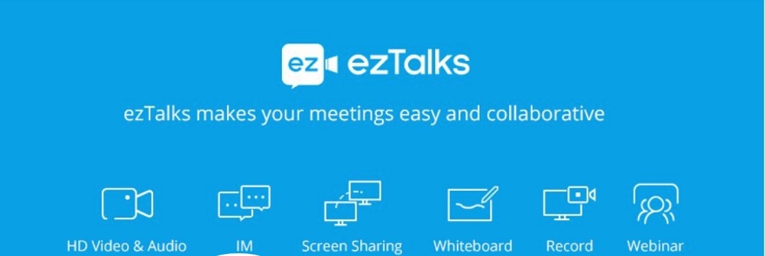 free video conferencing (@eztalks) Cover Image