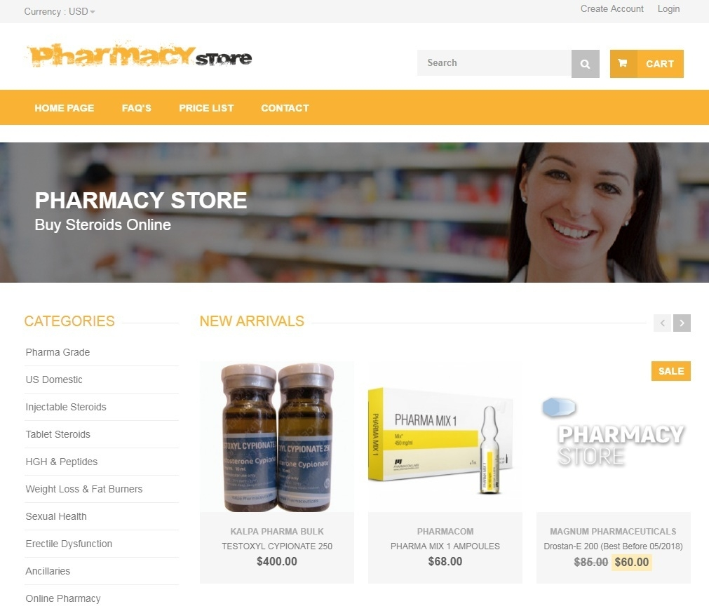 Pharmacy Store (@pharmacystorecc) Cover Image