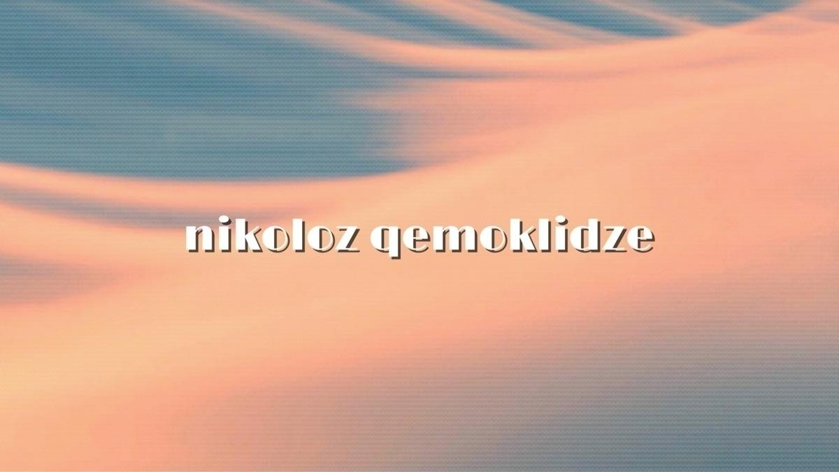 Nikoloz Qemoklidze (@nikolozq) Cover Image