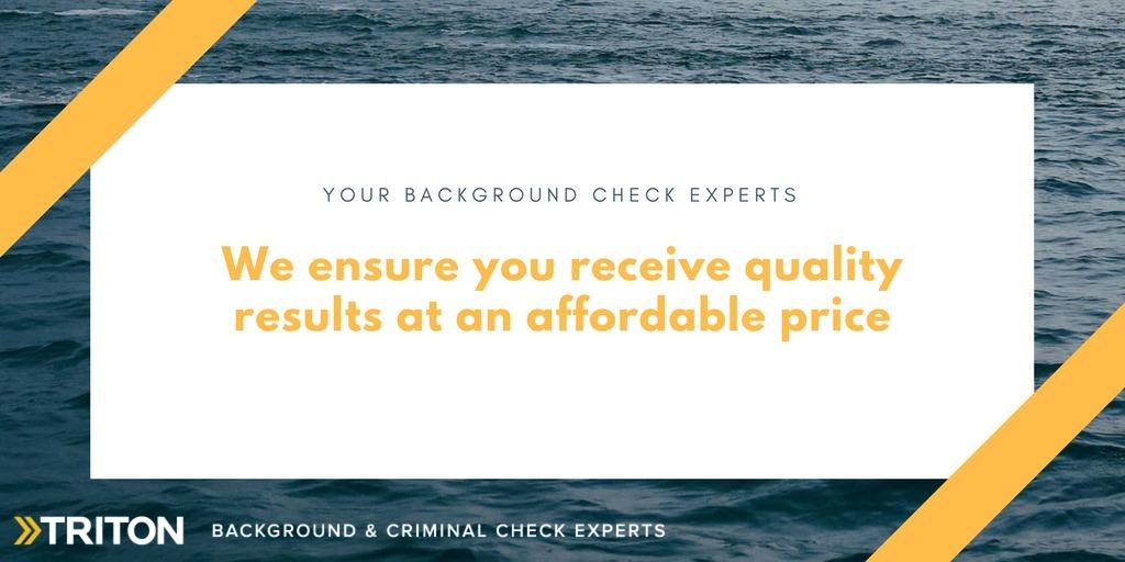 Private background checks services - Triton Canada (@tritoncanada) Cover Image