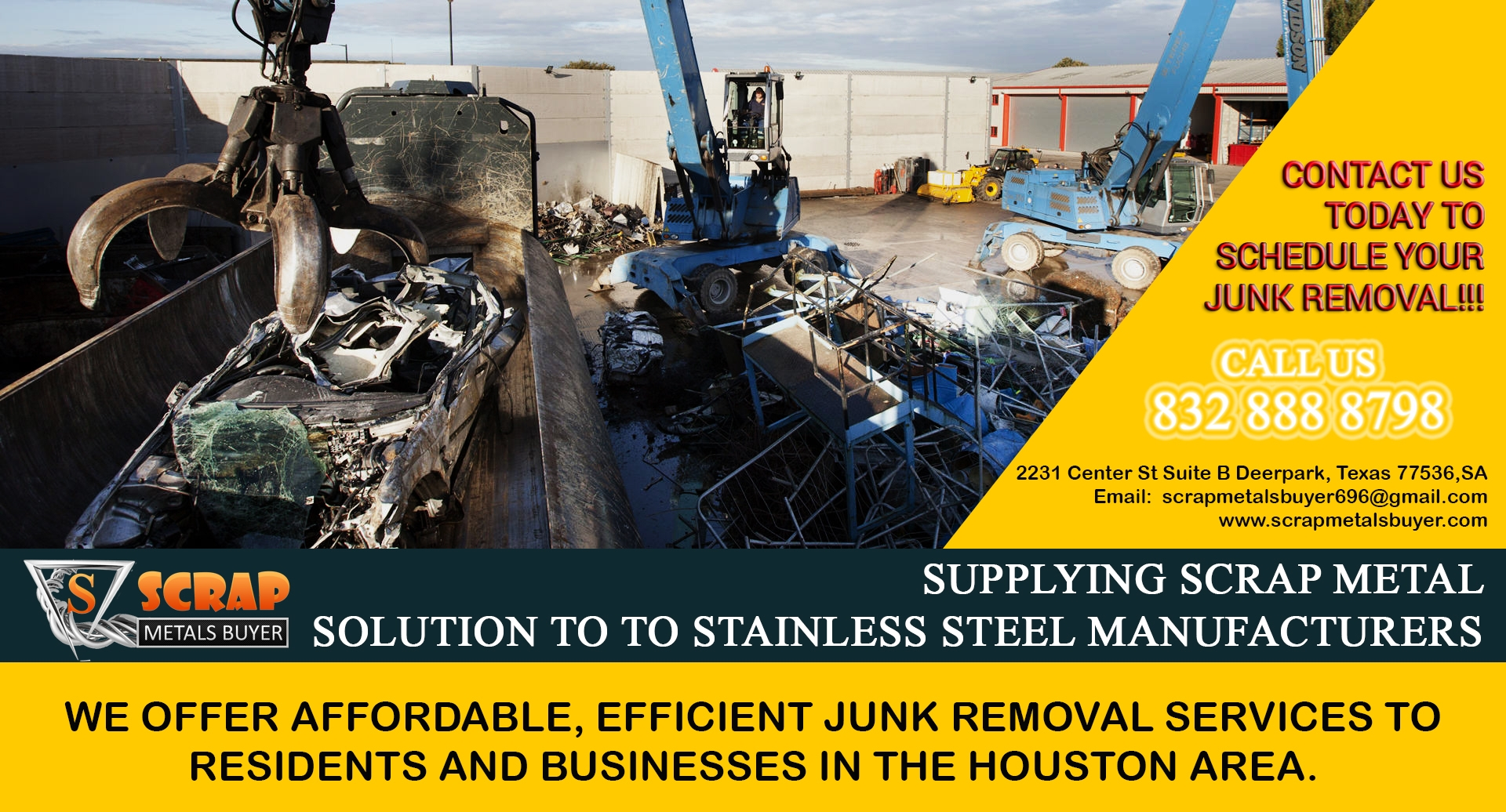 Scrap Metals Buyer (@scrapmetals) Cover Image