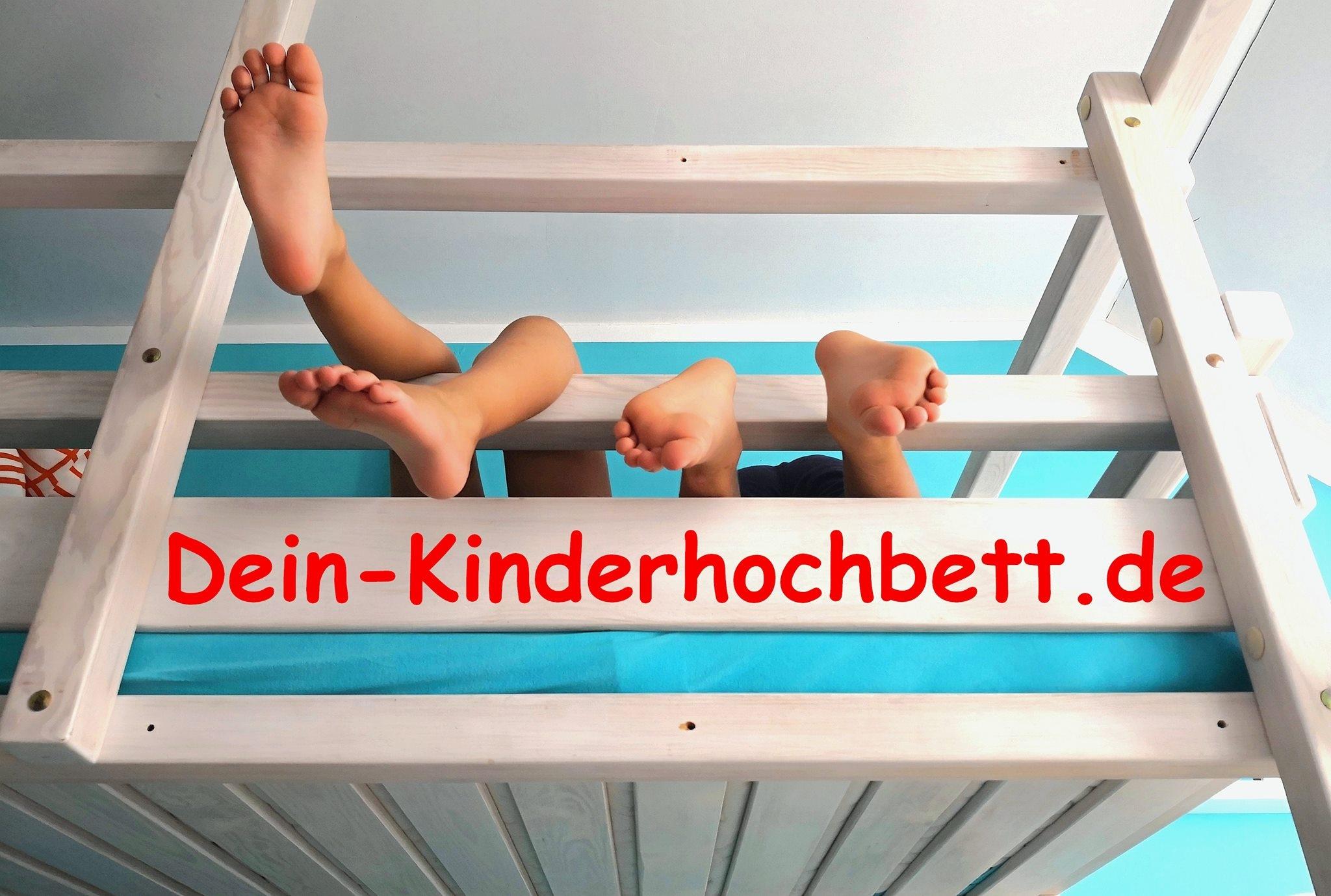 Hochbett mit Schreibtisch (@kinderhochbett) Cover Image