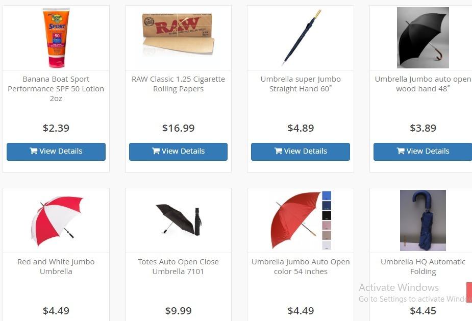 B2B Cheap Umbrella Wholesale (@b2bsupply) Cover Image