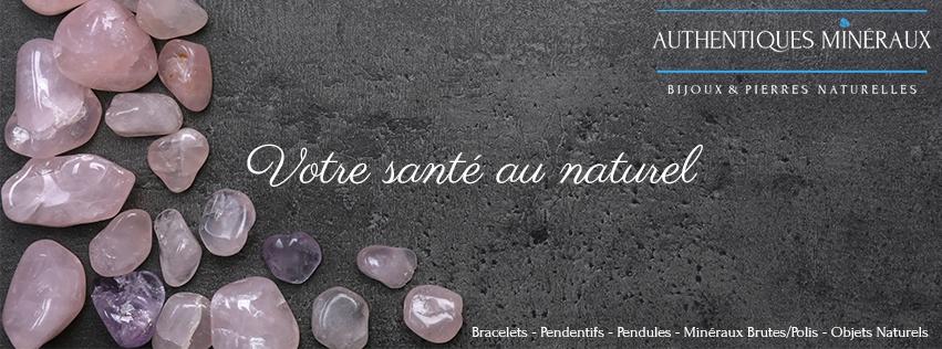 Authentiques Minéraux (@bracelet-pierre-naturelle) Cover Image