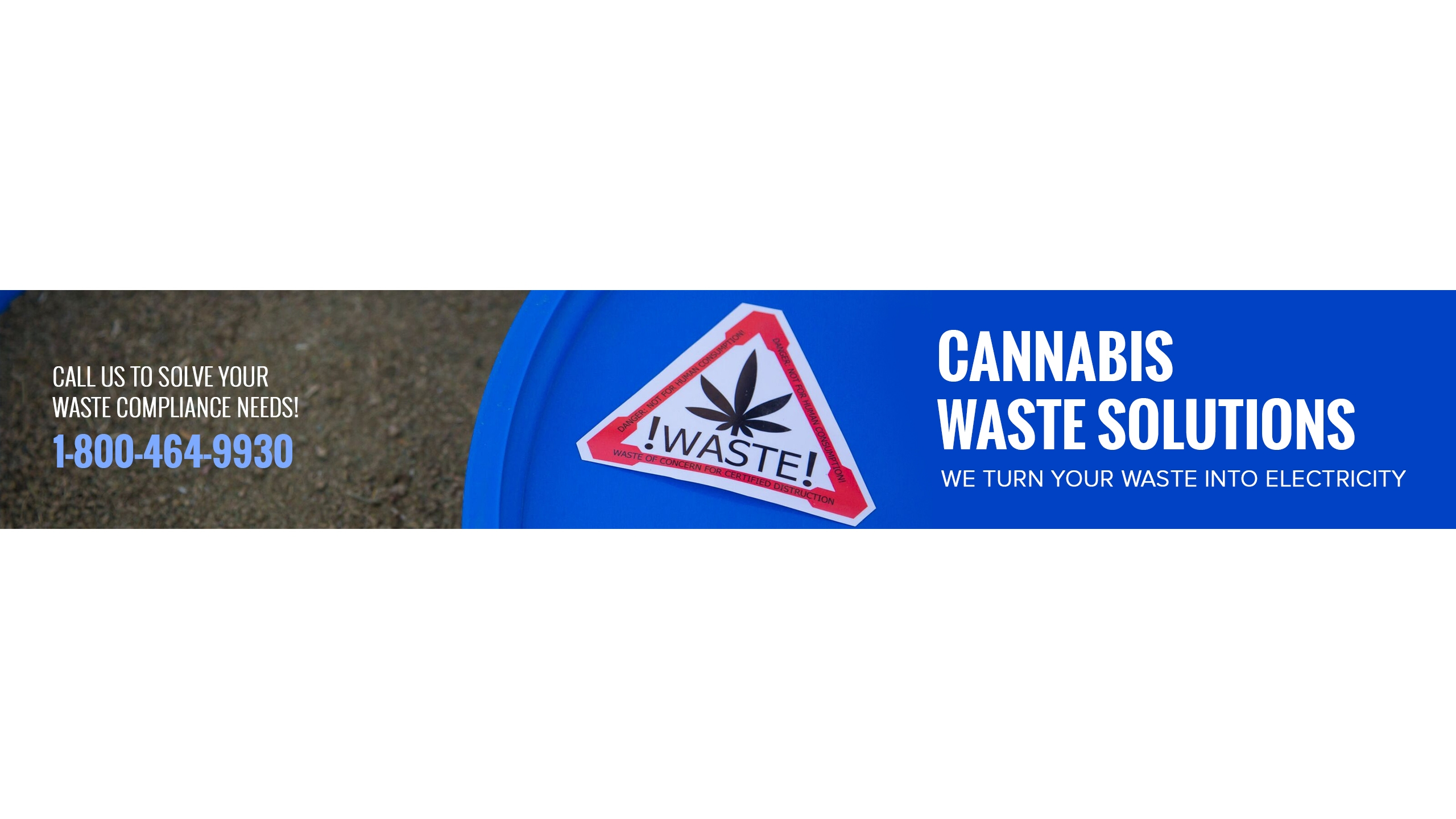 Cannabis Waste Solutions (@cannabis-waste) Cover Image