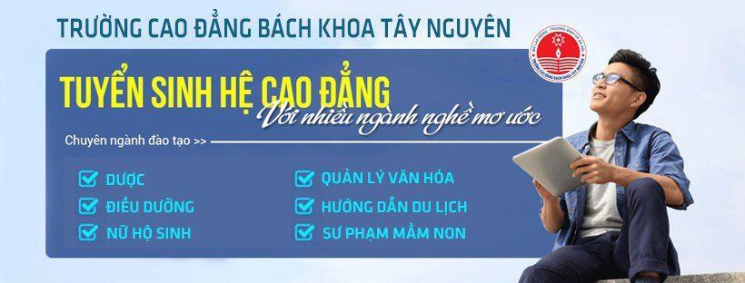Cao Đẳng Bách Khoa Tây Nguyên (@cdbachkhoataynguyen) Cover Image