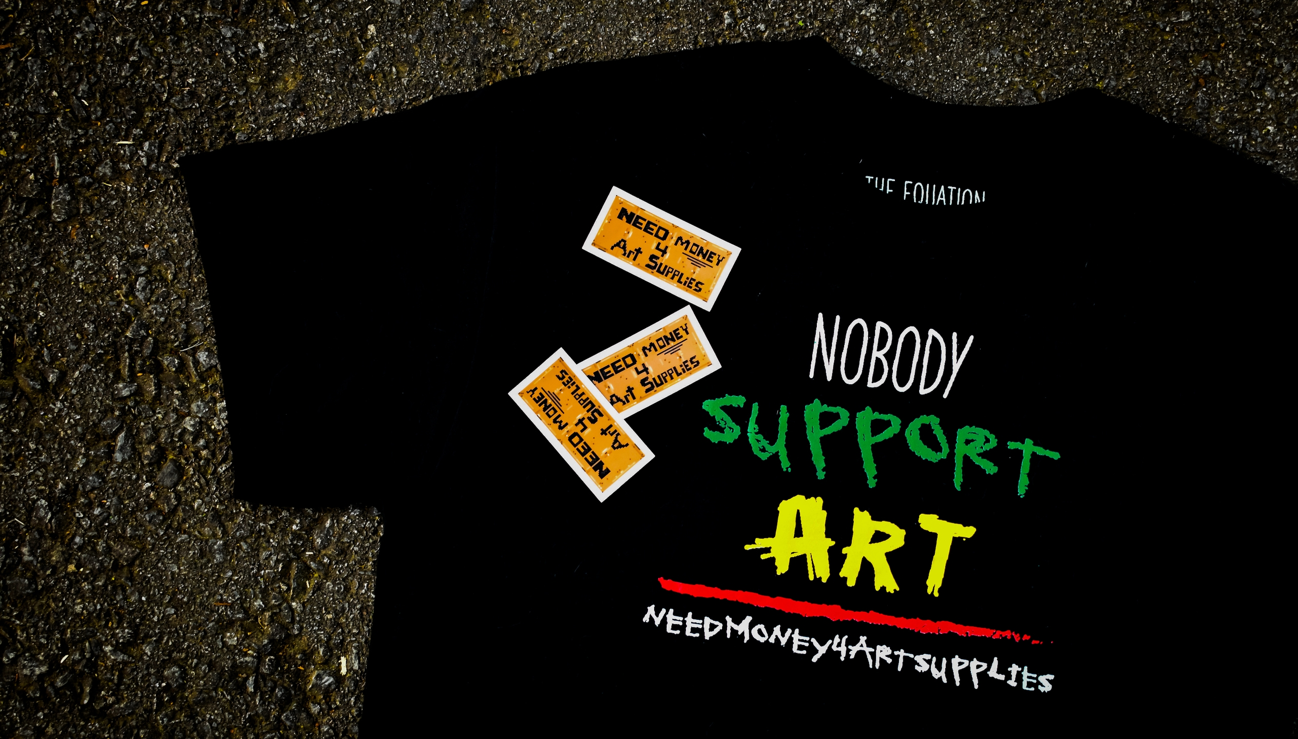 Nobody Support Art (@needmoney4artsupplies) Cover Image